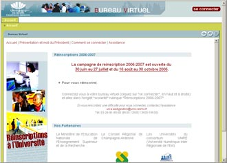 Site le bureau virtuel - Bureau virtuel univ reims ...